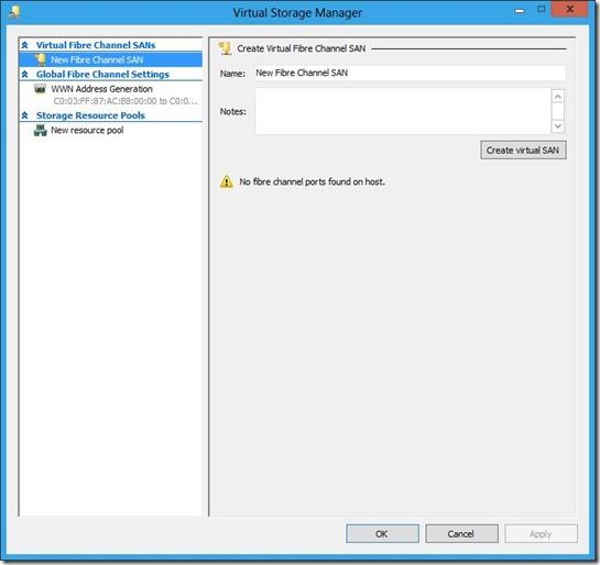 Virtual Storage Manager