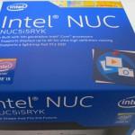 検証用マシン(Intel NUC)を購入しました